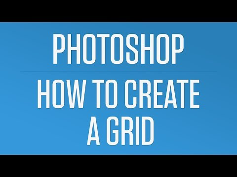 How to Create a Quick and Easy Grid in Photoshop - Photoshop Quick Tip