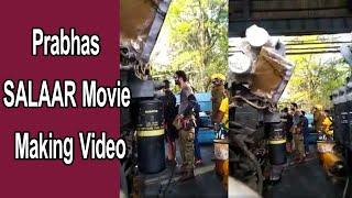 Prabhas SALAAR Movie Making    Prashanth Neel    Popcorn Media