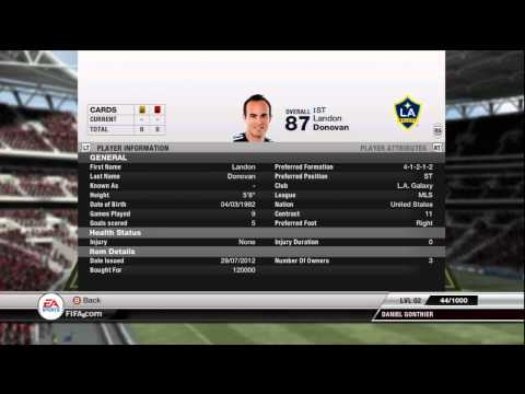 FIFA 12 UT   Squad Review   MLS ALLSTARS !!!!!!!!!!!!