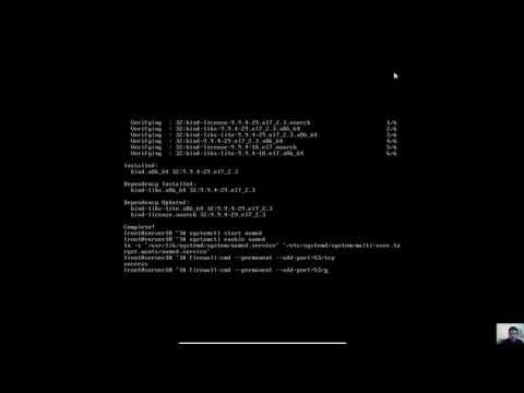 DNS (bind) Server on CentOS 7