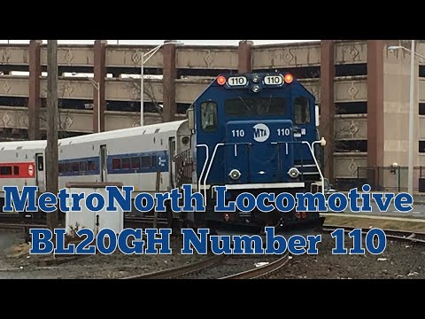 MetroNorth Commuter train arriving and Departing In Danbury CT at 10:15 and 10:34 4-10-18