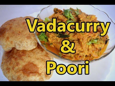Vadacurry & Poori |  வடகறி & பூரி |  Breakfast menu | Vadacurry Recipe