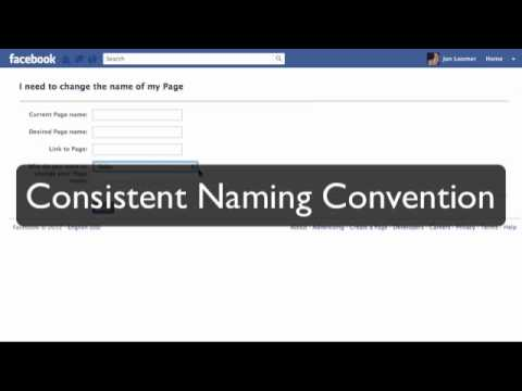 Facebook Timeline For Pages: How to Change Page Name