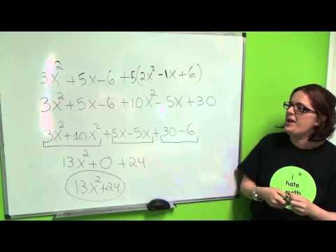 Tutorial de Algebra 4