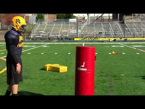 Youth Football Lineman Drills