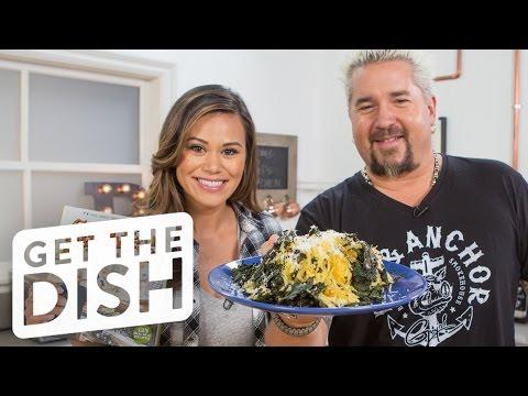 Spaghetti Squash & Kale Salad with Guy Fieri   Get the Dish