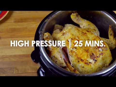 Whole Chicken in a Pressure Cooker
