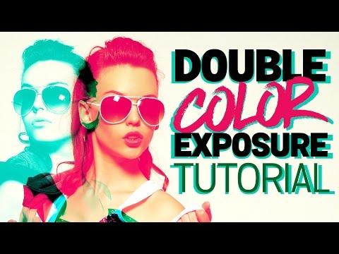 Double Color Exposure Effect Photoshop Tutorial