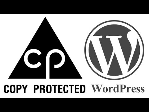 How To Protect WorPress Contents From Copy Paste