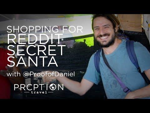 @Proof-of-Daniel shops for Reddit Secret Santa in Hawaii