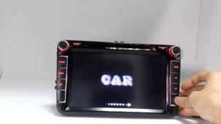Logo setting code for Cheap 50$ 7018B Double DIN Touch Screen Radio