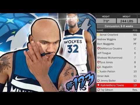 WHY IS EVERYBODY ON MY TEAM INJURED!?? NBA 2k18 MyCAREER Ep. 123