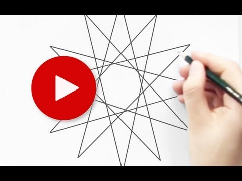 How To Draw A Perfect Star Without Extra Tools ||  Very Easy Drawing Tips & Tricks 5