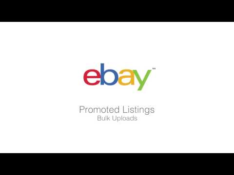 Bulk Upload Listings with Promoted Listings