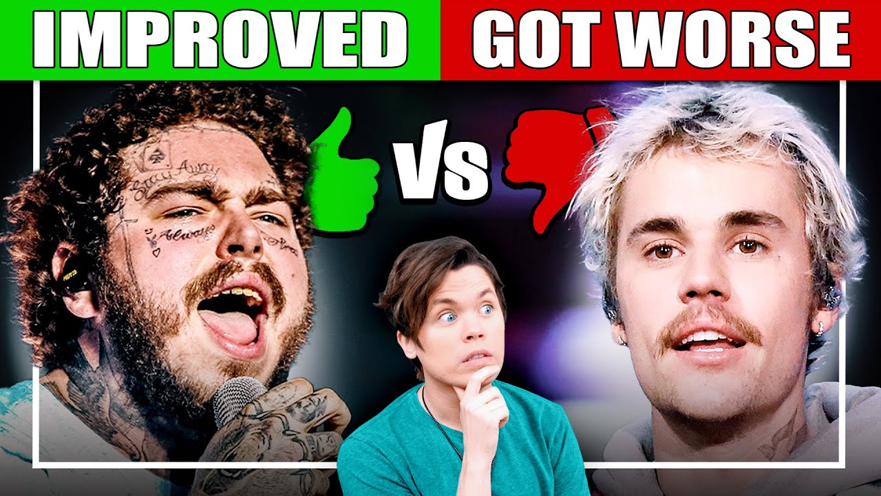 Singers Who Are Getting WORSE vs BETTER #1