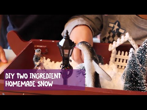 ​Create an ​Indoor Winter Wonderland with DIY Fake Snow
