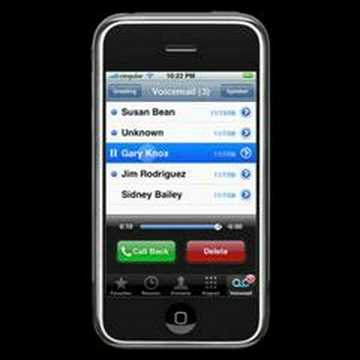 iPhone - Voicemail
