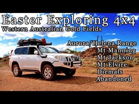 Part 2/3 - Aurora/Helena Ranges, Mt Manning, Mt Jackson, Mt Elvire