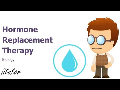 √ Hormone Replacement Therapy | Biology | iitutor