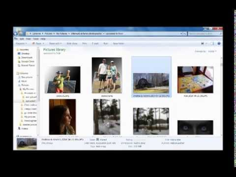 Reduce photo size with Windows Live Photo Gallery - long version