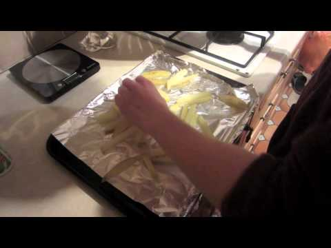 Low Fat Fish and Chips - Fast Food Made Healthy