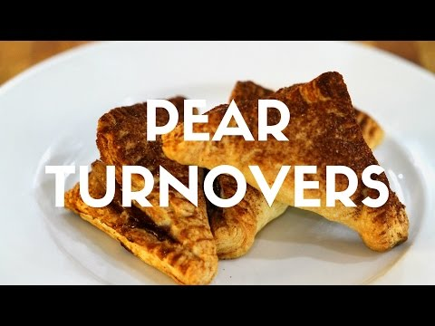 Wine Poached Pear Turnovers Recipe
