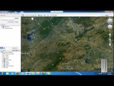 How to make KMZ or KML file in Google Earth