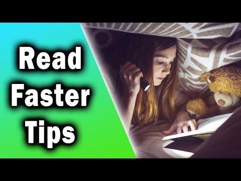 How to Read Faster - 8 Practical Tips to