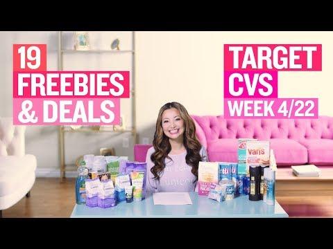 ★ 19 Target & CVS Coupon DEALS & FREEBIES (Week 4/22 – 4/28)