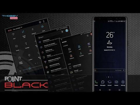 Point Black | Samsung Theme