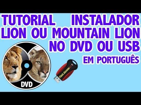 Como fazer DVD ou USB de instalação do Mac OS da Apple