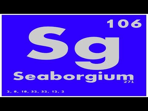 STUDY GUIDE: 106 Seaborgium | Periodic Table of Elements