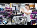 Bmw electric engine and battery cells production assembly line