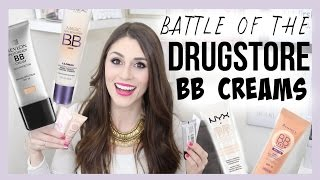 Battle of the Drugstore BB Creams: Round 1