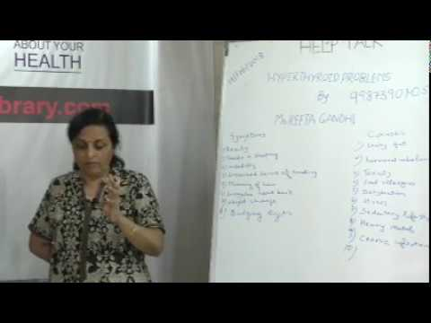 Hyperthyroid Problems By Ms. Reeta Gandhi on Health HELP Talks