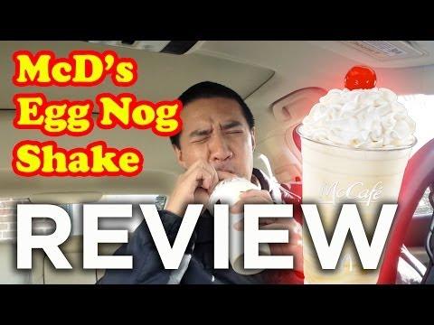 McDonald's Egg Nog Shake Review: Freezerburns (Ep615)