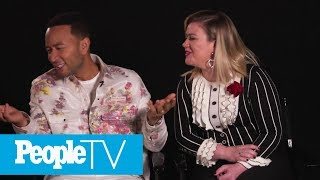 'The Voice' Coaches Are Bringing The Heat To Beat New Coach John Legend!   PeopleTV