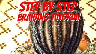 Learn How To Braid Your Own Hair For Beginners Step By Step In Cornro