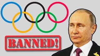 Russia BANNED From 2018 Winter Olympics