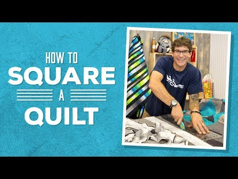 Learn How to Square A Quilt with Rob!