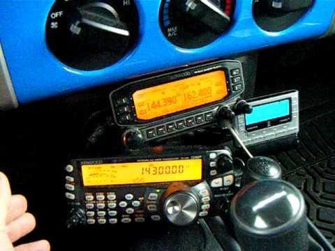N4LS mobile ham radio station