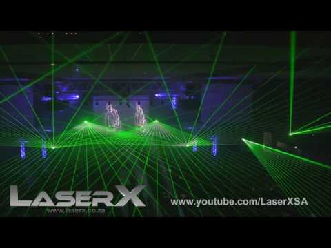 University of Free State Open day Laser show - 2016