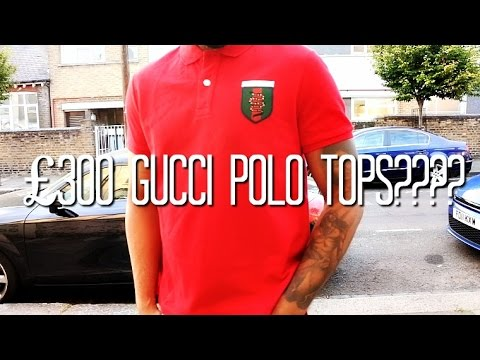 ARE £300 GUCCI POLO TOPS WORTH THE MONEY??