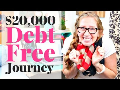 Our Amazing $20K Debt Free Journey | How to Pay Off Debt on One Income