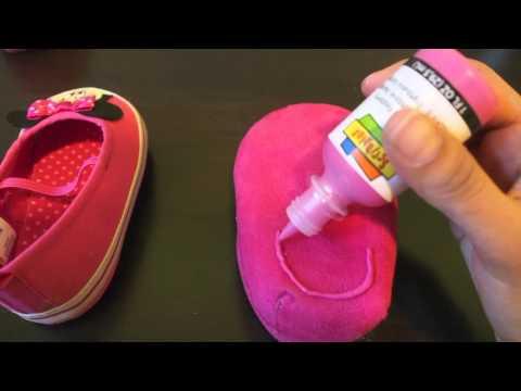 DIY Non Slip baby shoes