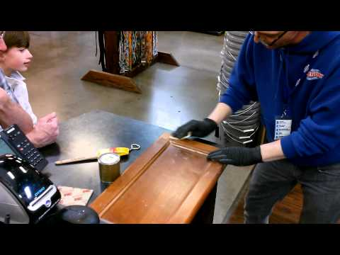 How to Clinic -  Strip and Stain Cabinet Doors