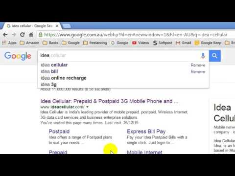 How to turn off Google instant search results