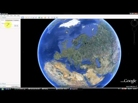 how to start 3D buildings on google Earth,