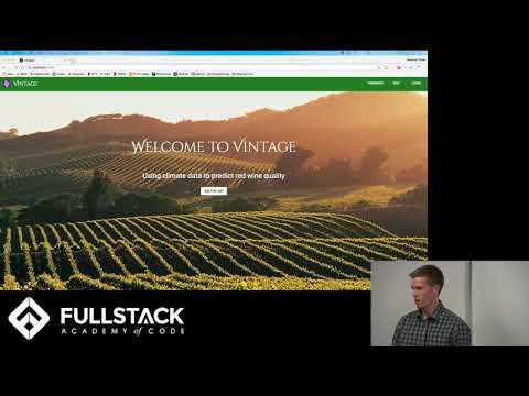 Stackathon Presentation: Vintage