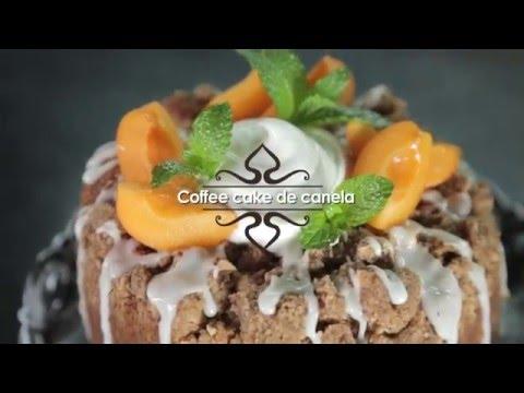 Coffee cake de canela